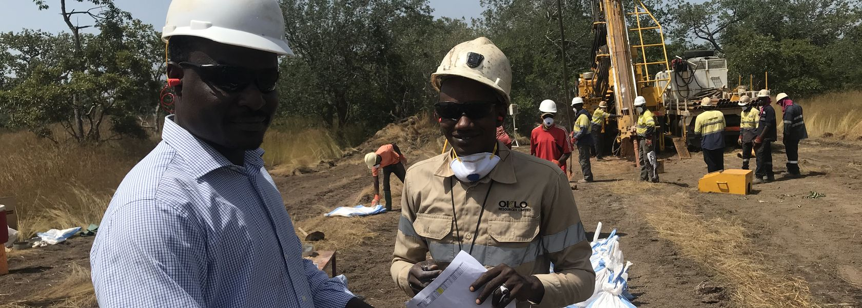 High-grade gold hit by Oklo at Seko