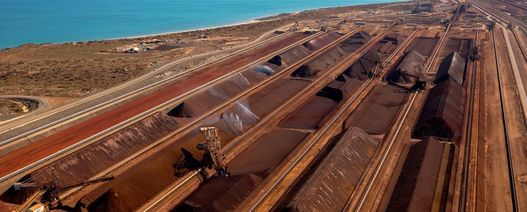 Aussie iron ore exports reach record