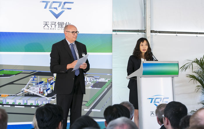 Tianqi sees expansion potential in 'hot' lithium market