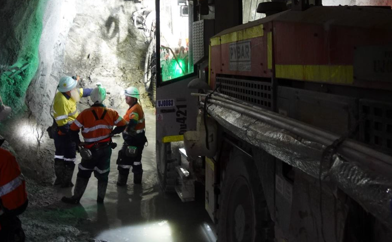 Heron cranks up underground mining