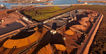Broker sees $50/t iron ore