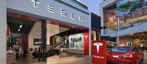 Tesla leads Wall Street sell-off