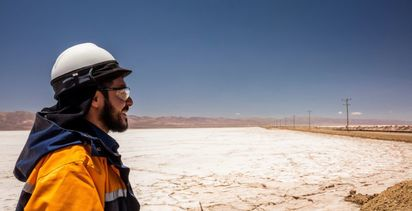 Lithium prices slide