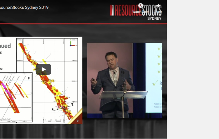 ResourceStocks 2019 video presentation: Yandal Resource Ltd