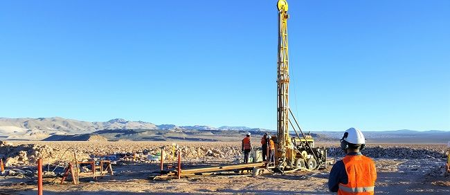 alt='Drilling at Lake Resources' flagship Kachi project '