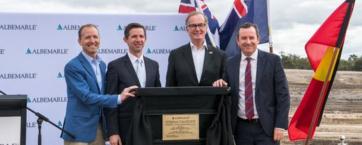 Albemarle scales back WA lithium plant