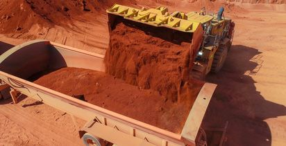 Metro promises low-cost bauxite for Chinese market