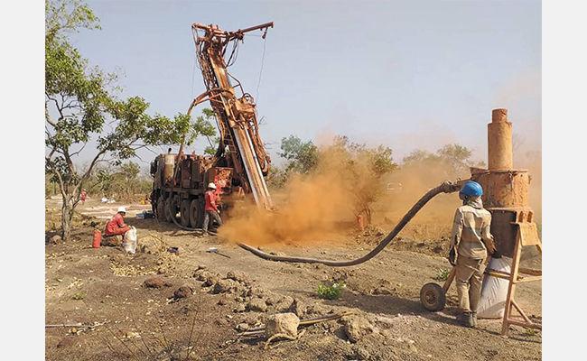 Drilling at GoviEx's Falea project in Mali