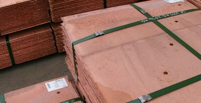 Copper creeping towards seven-year high
