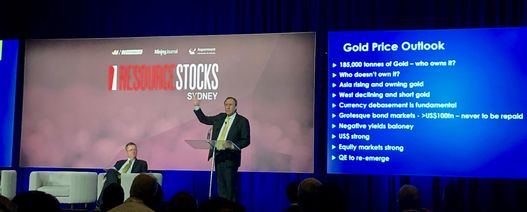 Dawes sees start of 10-year gold bull market
