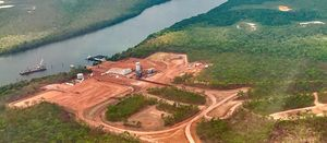 Metro now mining at Bauxite Hills