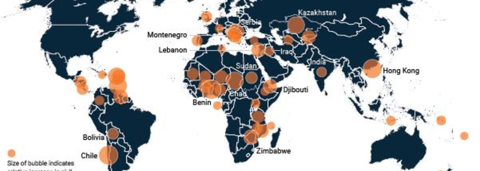 Dangerous rise in global unrest threatens miners