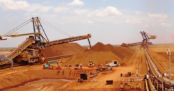 How high can iron ore go?