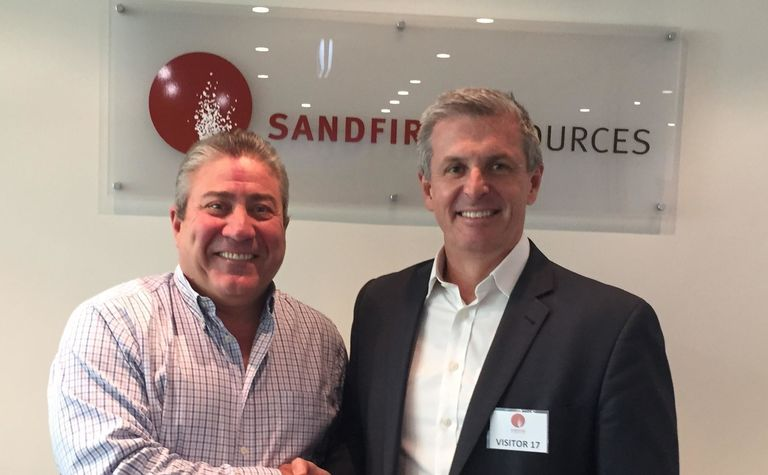 Sandfire backs another junior