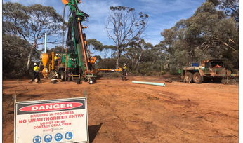 Auroch hits over 5% nickel in first Nepean holes