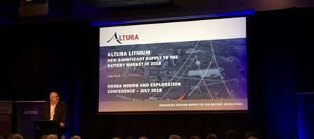 First Altura production due this week