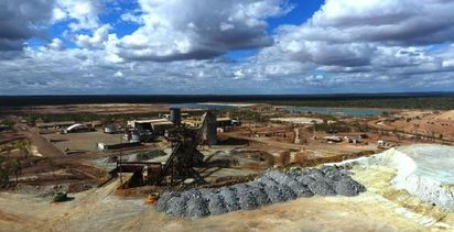Base metal producers quiet