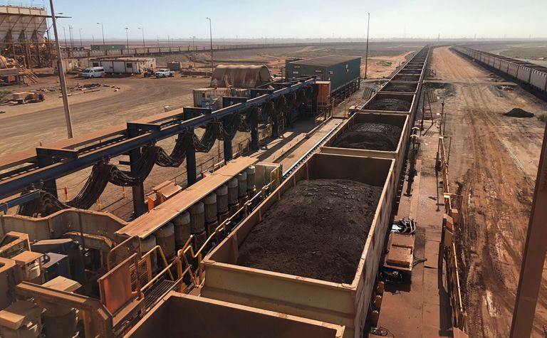 FMG riding high as iron ore soars