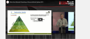 ResourceStocks 2019 video presentation: White Rock Minerals
