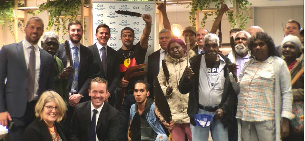 New Century strikes historic native title deal