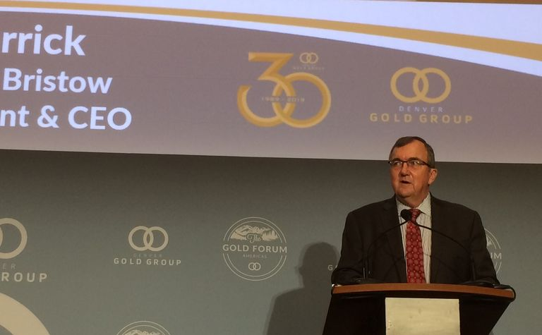 New Barrick just getting started, says Bristow