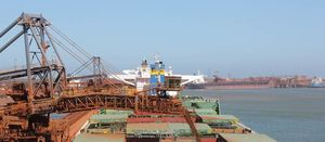 First of FMG's West Pilbara Fines set sail