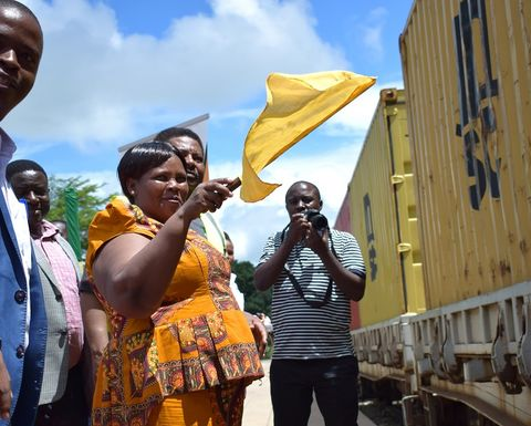 Mahenge shipment says Tanzania on the right track