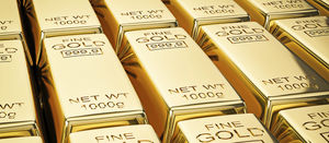 Gold price fall doesn't hit stocks hard