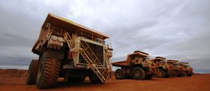Iron ore drags on market