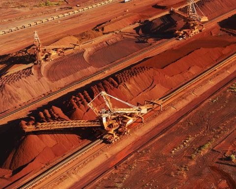 Copper down, iron ore output sags for BHP