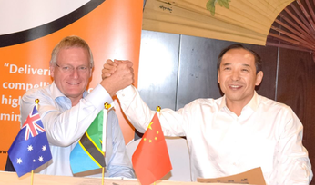 Black Rock signs Chinese support