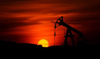 Oil collapses into negative territory