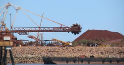 Iron ore rally continues at pace