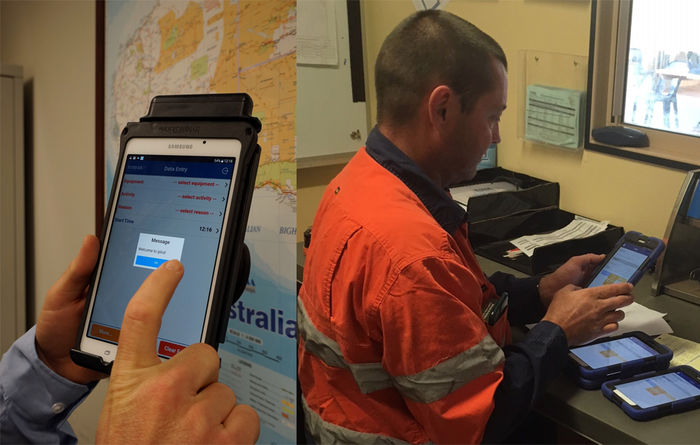 Operator app boosts productivity