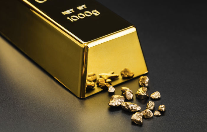 Gold investment hits record