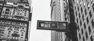 Sell-off on Wall Street