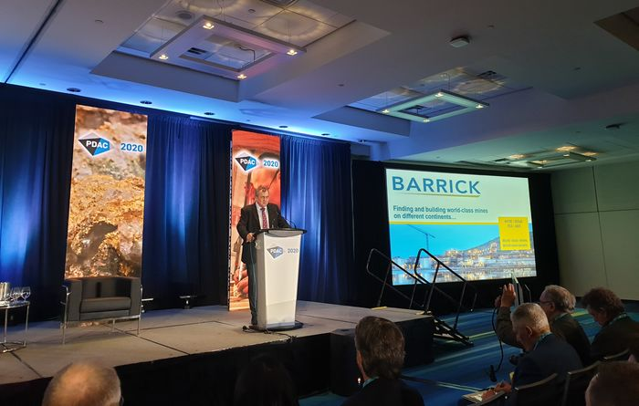 Bristow's PDAC appearance interrupted by protest