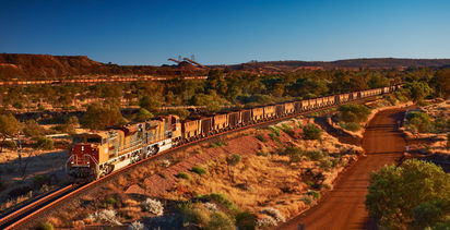 BHP flags higher iron ore costs, lower output