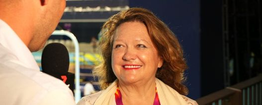 Another honour for Rinehart
