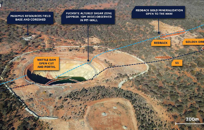 Maximus' S5 drilling adds evidence for Wattle Dam repeat