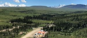 White Rock Minerals sets cracking Alaska pace in first field season