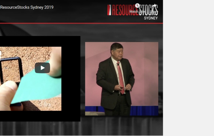 ResourceStocks 2019 video presentation: Altech Chemicals