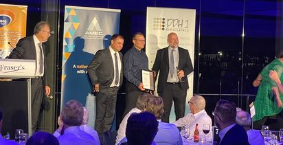 AMEC Prospector of the Year Award a tie