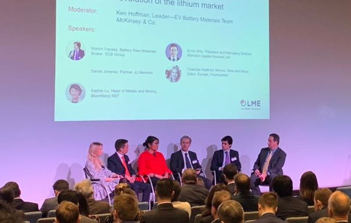 Lithium woes discussed at LME Week