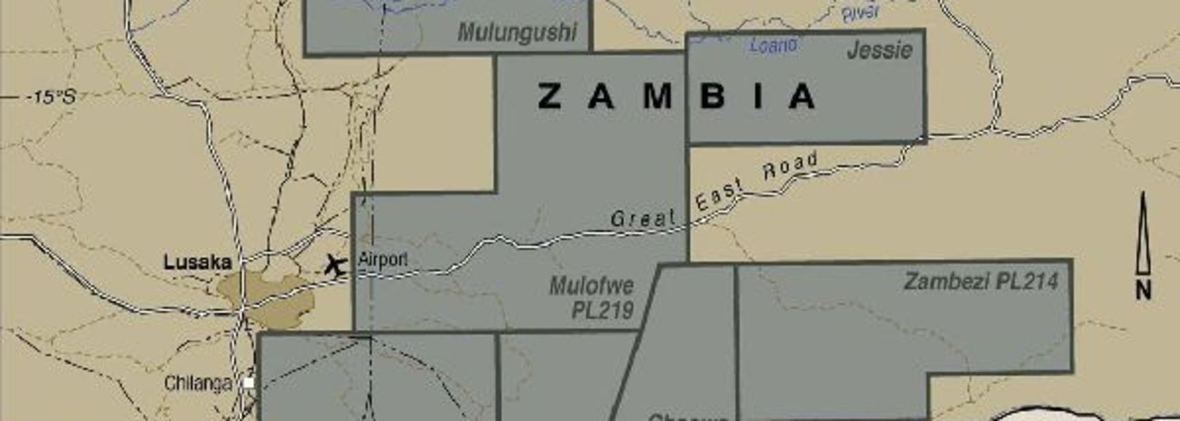 Zambezi goes to ground