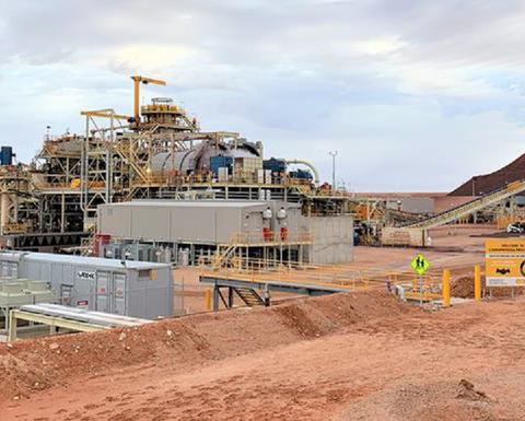 OZ's Carrapateena mill hits nameplate