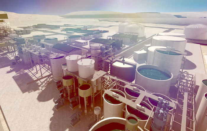 Positively unique potash project grows