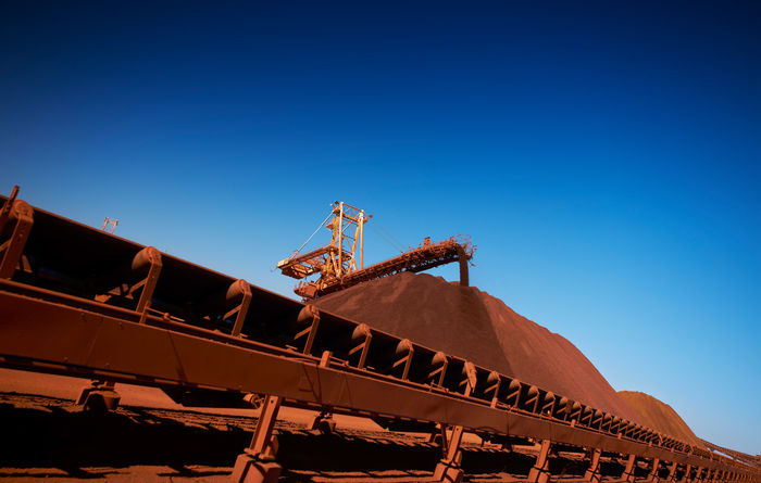 Iron ore plunges again
