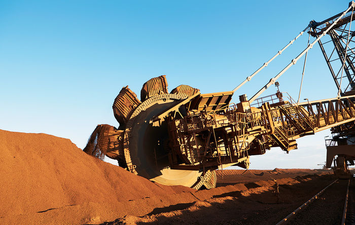 Iron ore sell-off overdone: ANZ