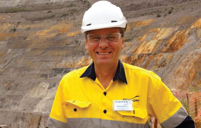 Palmer's rise to the top of the gold sector